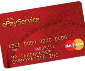 Платежные карты ePayService MasterCard: подробное описание