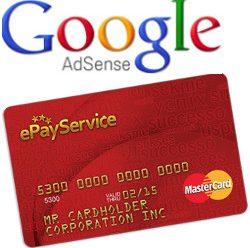 Как обналичить чек от Google AdSense с помощью ePayService